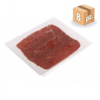 Carne salada affettata e confezionata