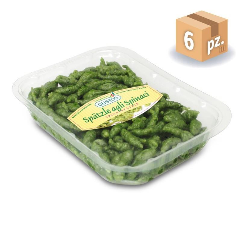 Gnocchetti Spätzle agli spinaci