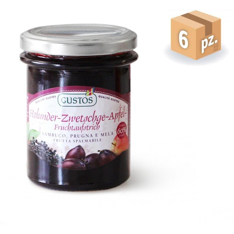 Frutta da Spalmare Sambuco Prugna e Mela