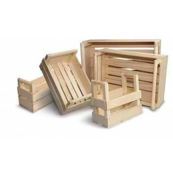 cassette in legno di varie misure