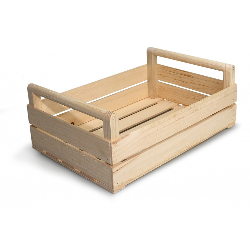 cassetta in legno grande