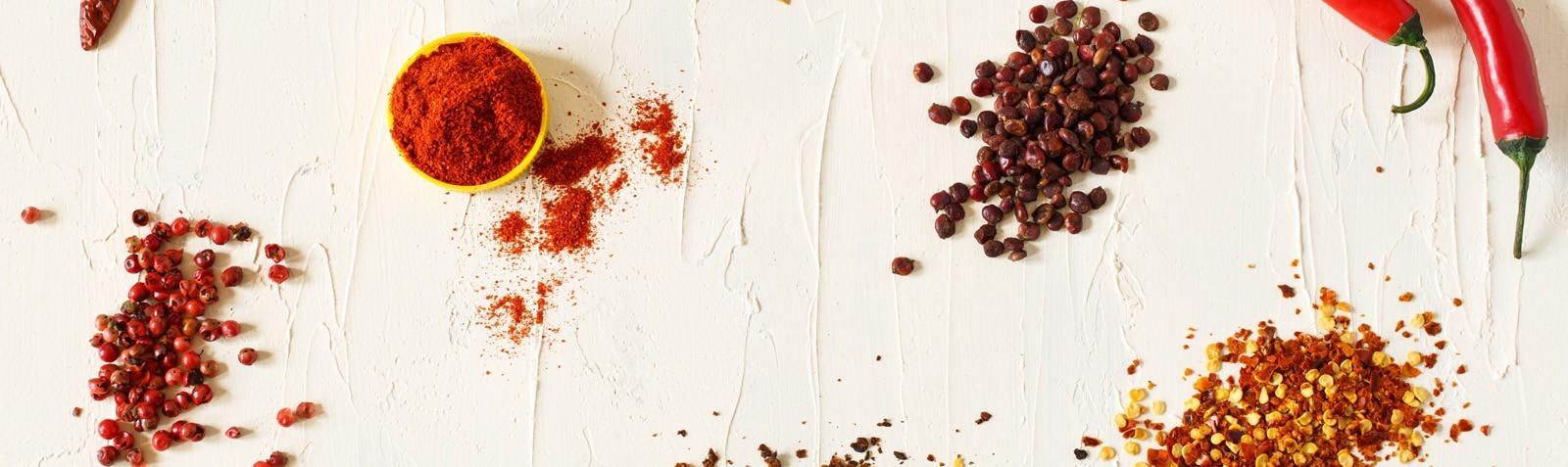 Spezie ed erbe aromatiche per cucinare con gusto